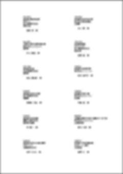 「販売業顧客管理システム」タックシール