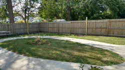 Nursing home fence project