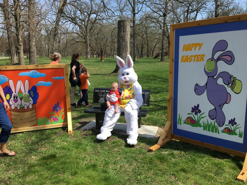 Easter Bunny & new signs