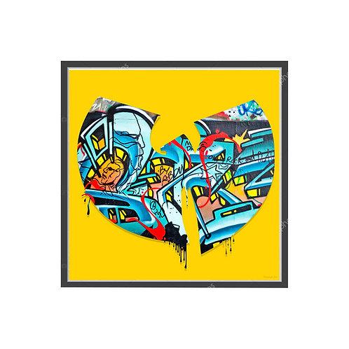 Wu Tang Clan Graffiti Poster, Hypebeast Poster Music Pop Culture Wall Art