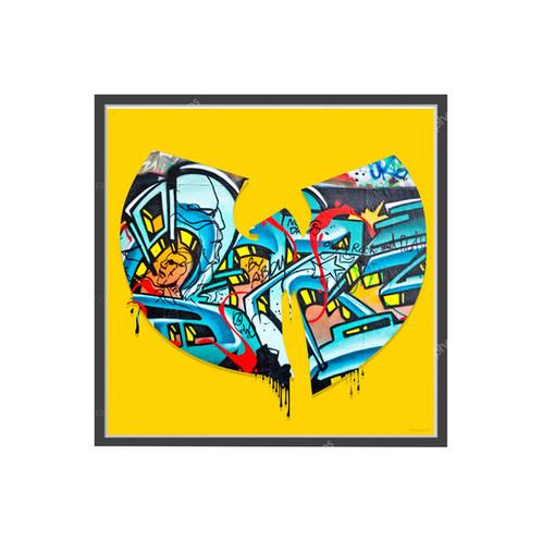Wu Tang Clan Graffiti Poster, Hypebeast Poster Music Pop Culture ...
