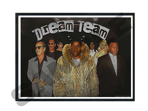Celebrity Dream Team Poster, Hypebeast Poster