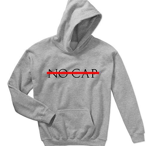 No Cap Sneaker Match Hoodie, Streetwear Hypebeast Sweatshi