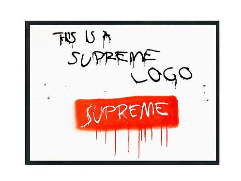 Box Logo Graffiti Poster, Hypebeast Poster, Street Art Poster