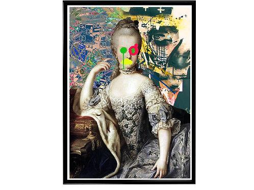 Let Them Eat Cake Poster, Hypebeast Poster Print, Marie Antoinette Poster
