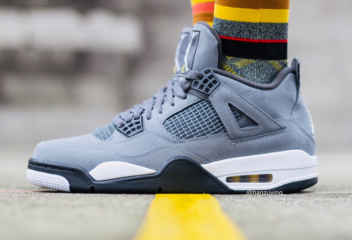 Air Jordan 4 Cool Grey, 30th Anniversary