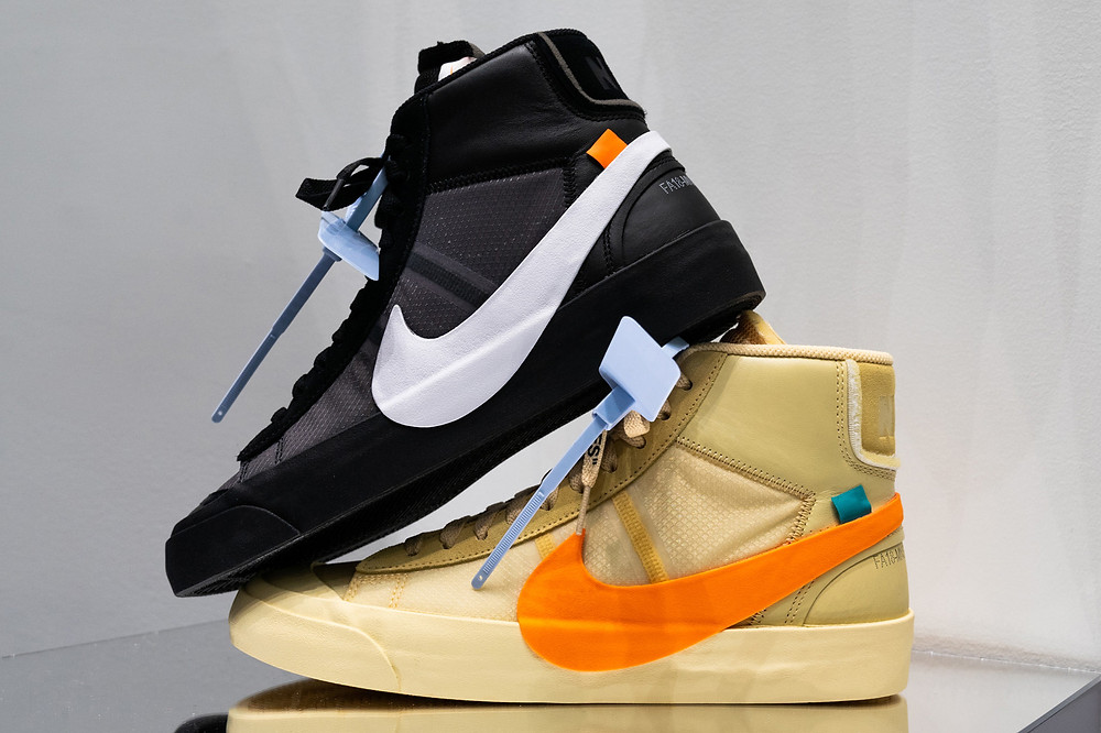 "The Off White X Nike Blazer ""All Hallows Eve"" ""Spooky Pack"""