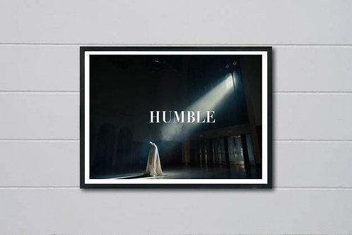 Kendrick Lamar Humble Art Poster, Hypebeast Poster Print