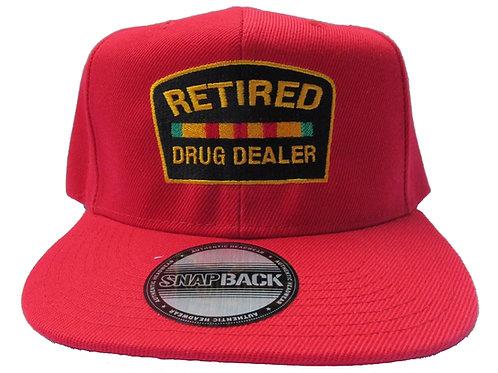 Retired Drug Dealer Jay Z Red Emoji Meme Streetwear Snapback Cap Hat