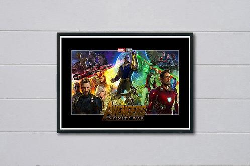 Infinity War Inspired 2 Alternate Movie Poster, Avengers Movie Poster