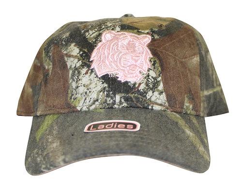 Louisiana State University Tigers Woodland Camo Strap Back Hat Adjustable Da