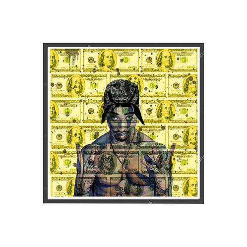 Tupac C.R.E.A.M. Poster, Hypebeast Poster Pop Culture Sneaker Wall Art