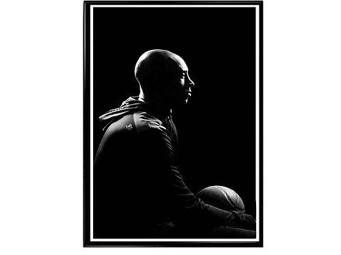Kobe Bryant Shadow Poster, Hypebeast Poster, Kicks Poster, Sports Fan