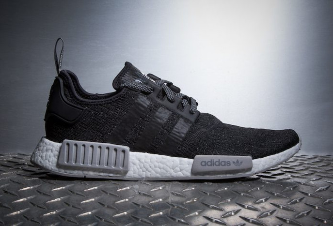 """Champs Sports Releases adidas Originals NMD ROLLERKNIT """"BLACK REFLECTIVE"""""""