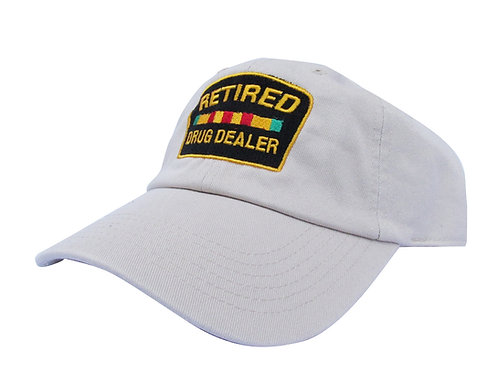 Retired Drug Dealer Jay Z Khaki Emoji Meme Twill Cotton Dad Hat