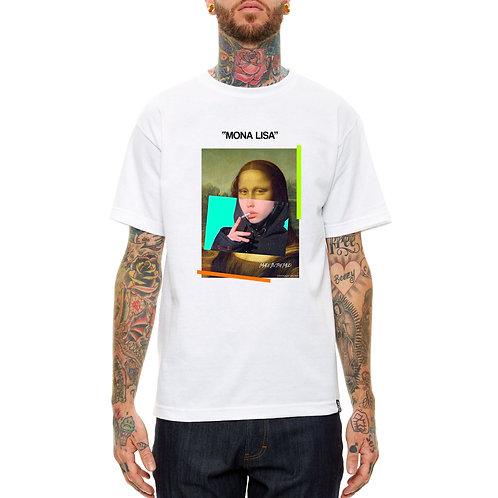 Mona Lisa Mixed Media T Shirt, Streetwear Hypebeast T Shirt