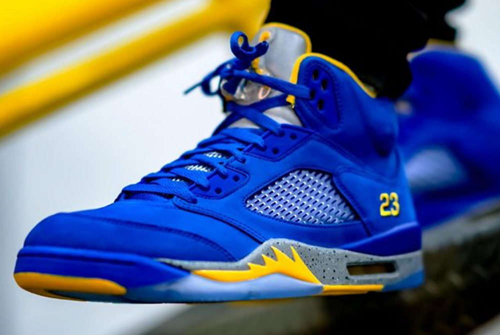 Air Jordan Laney 5 High School Varsity Sneaker