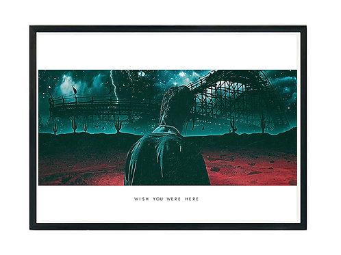 Travis Scott Astroworld Pan Poster, Hypebeast Poster, Modern Pop Art Music Art
