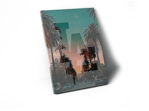 LA Sunset Canvas Print, Hypebeast Canvas Art