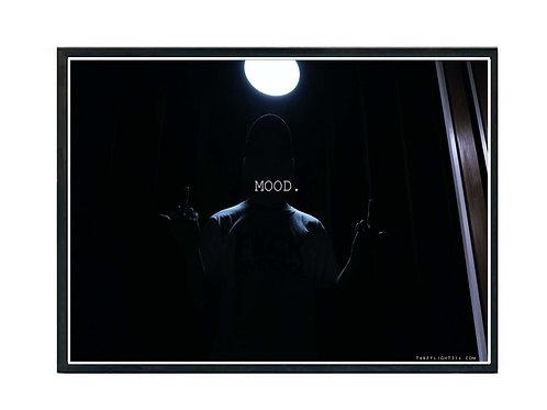 Black Mood Poster, Hypebeast Poster, Streetwear Poster