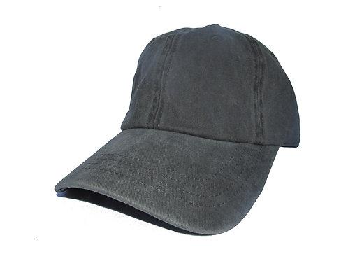 Acid Wash Black Kanye West Yeezy Style Streetwear Twill Cotton Dad Hat
