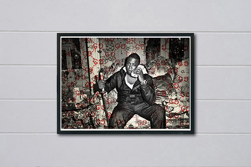 Classic Guwop Poster, Hypebeast Posters Prints, Gucci Mane Inspired Poster