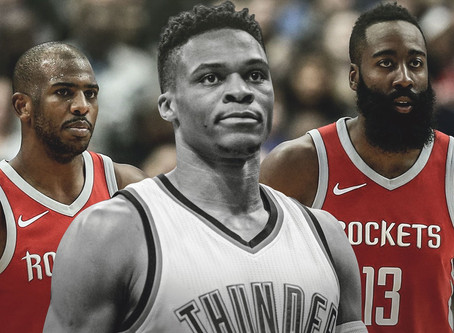 """Home Sweet """"Home"""" - Russel Westbrook Trade and Re-unite W/ James Harden"""