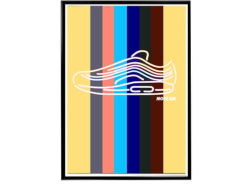 Sean Wotherspoon Air Max Sneaker Poster, Hypebeast Poster, Kicks Pos