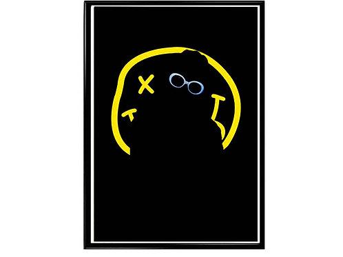 Kurt Cobain Nirvana Logo Music Poster Poster Printable