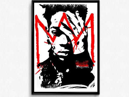 Basquiat Drawing Poster, Hypebeast Poster Print, Pop Culture Poster Art