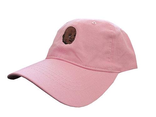 Crying Jordan Salmon Pink Meme Emoji Unstructured Twill Cotton Dad Hat