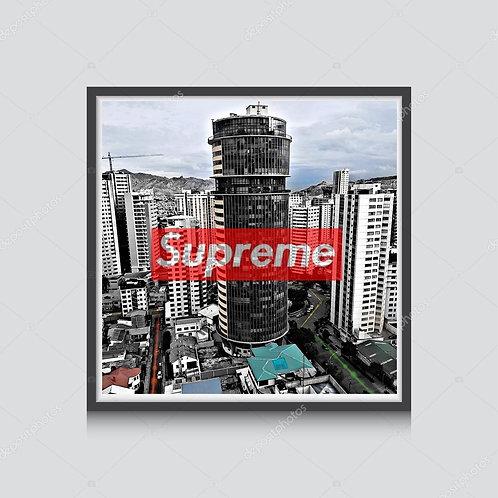 Supreme City Poster Hypebeast Poster Pop Culture Poster Pop Art Prints