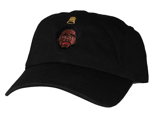 J.Cole Black Cold World Custom Low Profile Dad Hat