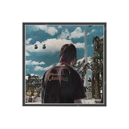 Travis Scott Astroworld Fan Art 2 Album Poster, Hypebeast Poster Pop Culture Art