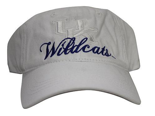 University of Kentucky Wildcats Script Strap Back Hat Adjustable Dad Cap