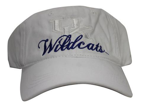 online store 18a31 4133f University of Kentucky Wildcats Strap Back Hat Adjustable Dad Cap
