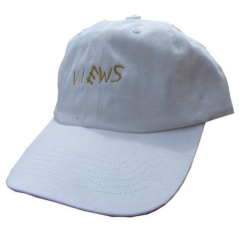 Views White Drake Emoji Meme Cotton Low Profile 6 God Yeezus Dad Hat