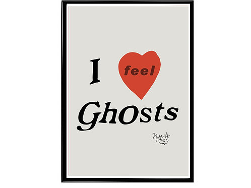 Kanye West I Feel Ghost Hypebeast Music Poster Printable