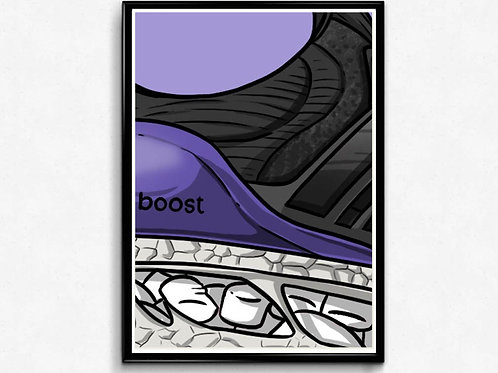 Ultra Boost Sneaker Poster Pop Culture Hypebeast Poster Sne