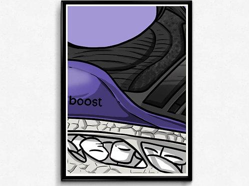 Ultra Boost Sneaker Poster Pop Culture Hypebeast Poster Sne