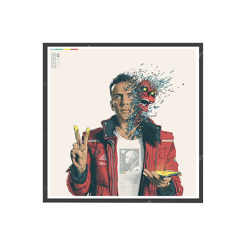 Logic Dangerous Mind Poster, Hypebeast Poster, Hip Hop Posters