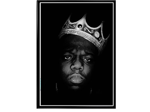Notorious Big Crown Classic Hip Hop Poster Printable