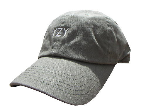 Custom YZY Army Olive Green Yeezy Boost Yeezus Cotton Dad Hat