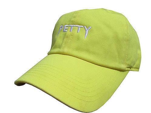 Custom Petty Yeezus Yellow Cotton Dad Hat Cap