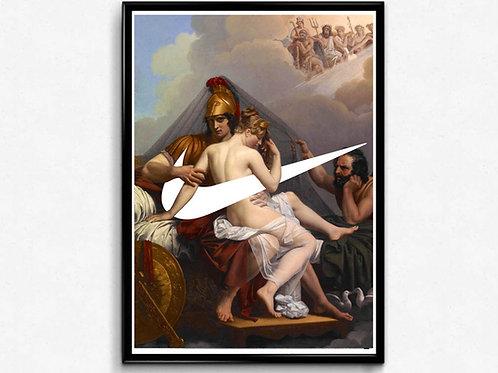 Sky Gods Sneaker Poster, Classic Wall Art, Hypebeast Poster