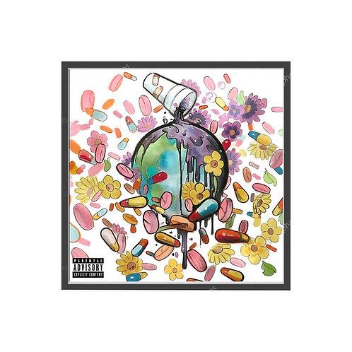 Future & Juice WRLD Poster, Music Poster, Modern Pop Art Poster, Hip Hop A