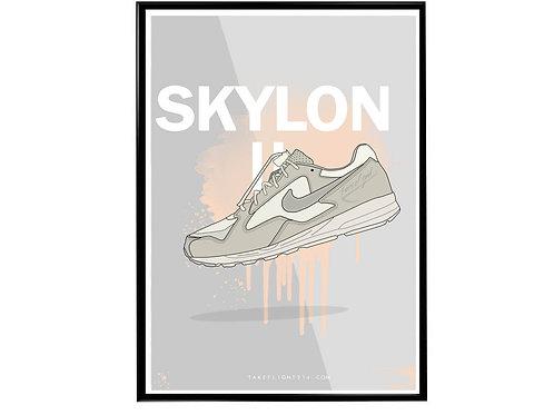 FOG Skylon II Sneaker Poster, Hypebeast Poster Kicks Poster