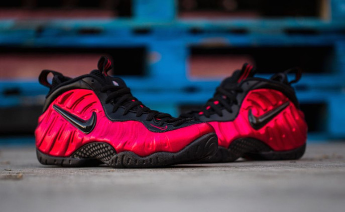 "4-16-16 Nike Air Foamposite Pro ""University Red"""