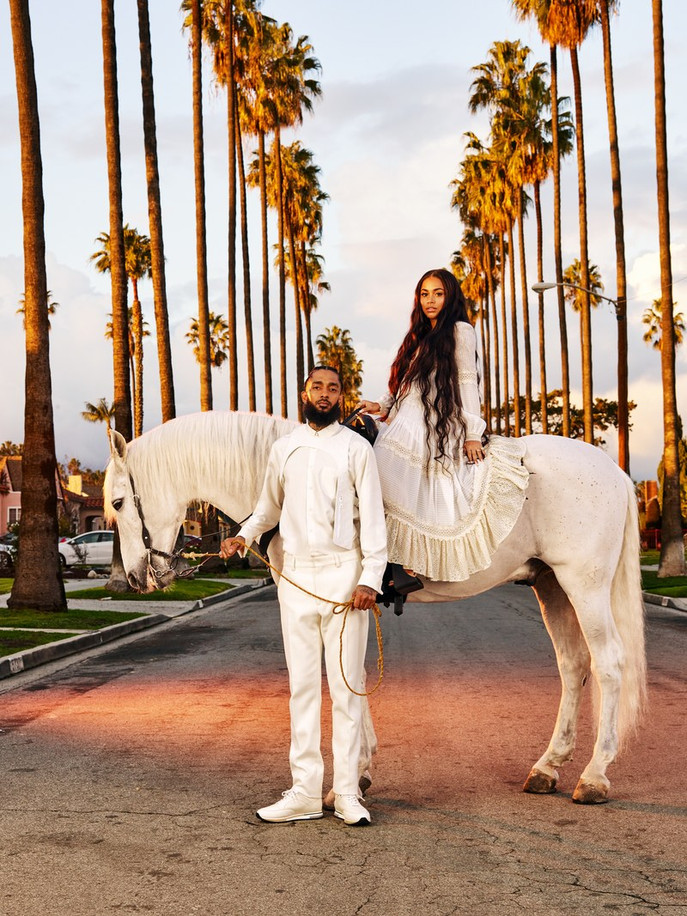 """The Evolulution of Hustle"", Nipsey Hussle, Lauren London and the new Aroma of ""Rap Mogul"""