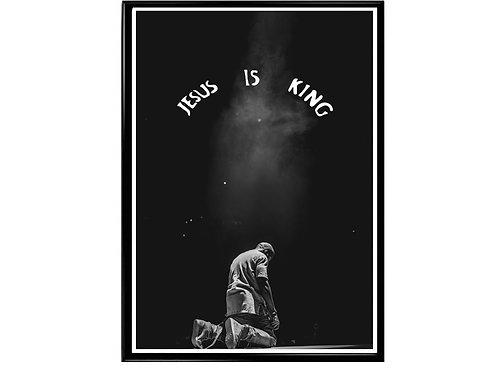 Kanye West Jesus is King Poster, Hypebeast Poster, Kicks Pos